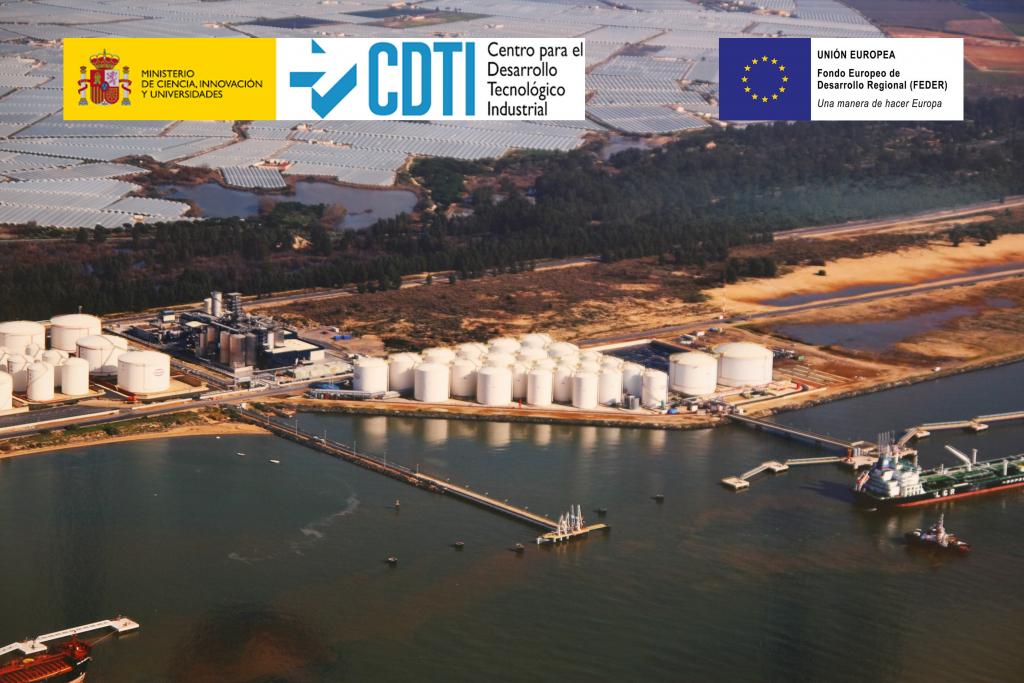 Desarrollo de proyecto con apoyo del CDTI y del Ministerio de Ciencia, Innovación y Universidades, y cofinanciación FEDER